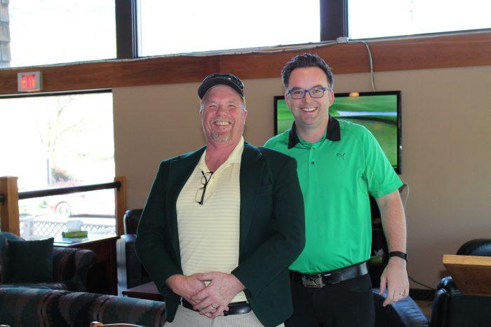 green jacket presentation