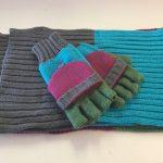 Ladies Scarf & Gloves